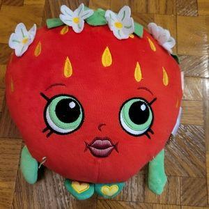 5/$10 Shopkins Strawberry Plush Toy